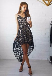 vestido de verano asimetrico