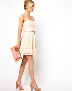 vestido para coctel de verano