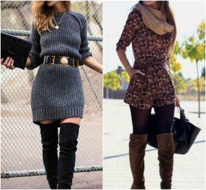 vestidos para el invierno